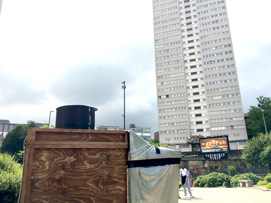 The camera obscura and one of the sentinels