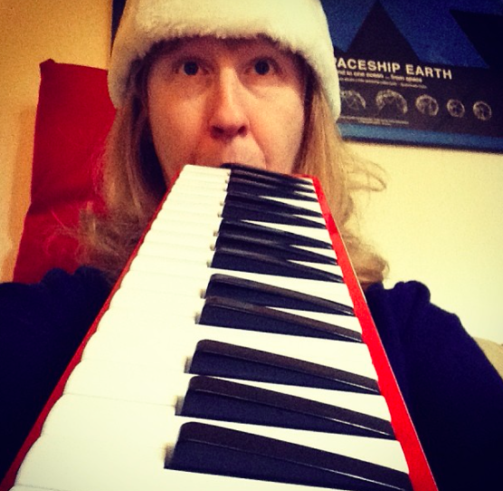 Me on the melodica