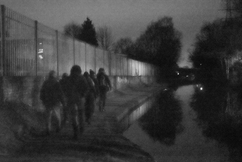 Dark Moon Walking night walk –in conversation with myself